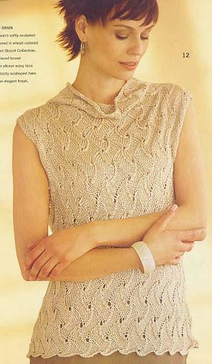 Топ Sleeveless из Vogue 2004 spring-summer - Елена Антонова - Веб-альбомы Picasa