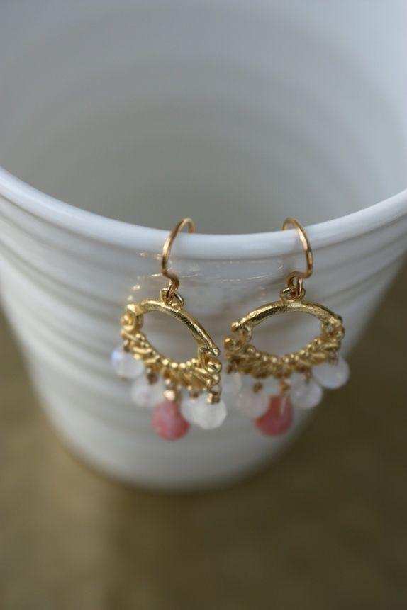 Øredobber *chandelier*