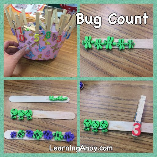 Learning Ahoy!! Work box: bug count