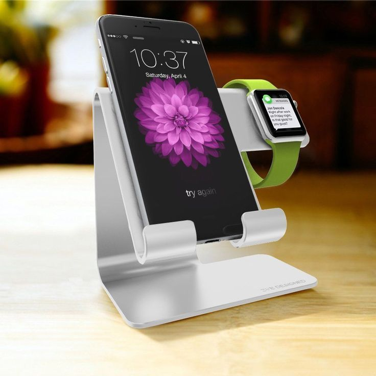 This #Aluminum #DockingStation which easily fits inside your purse or bag, comvient for charging when you put #iphone #iwatch on the stand.