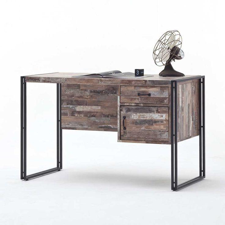 Schreibtisch vintage schwarz  219 best Industry Style & Loft Design Möbel images on Pinterest ...