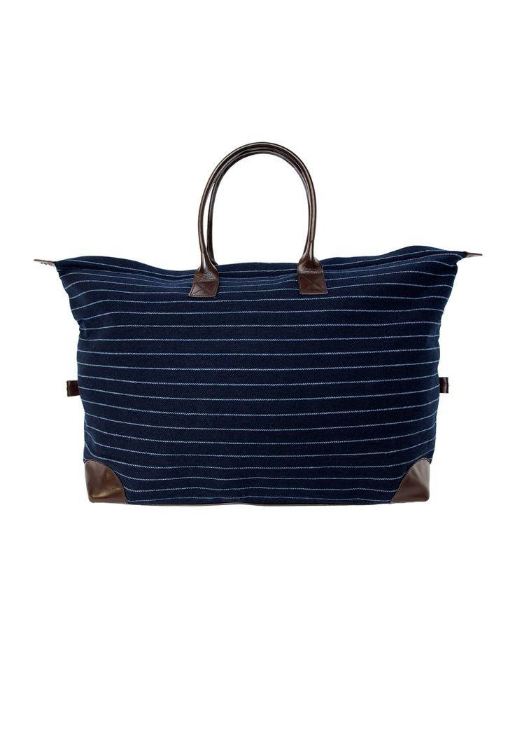 Navy Overnight Bag | Bags, Accessories | hush | hush-uk.com