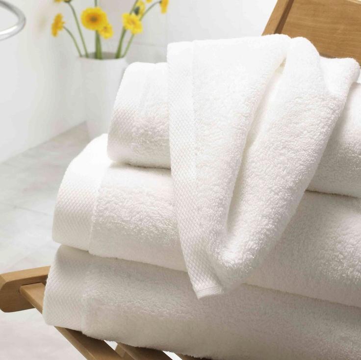 Luxury White Towels
