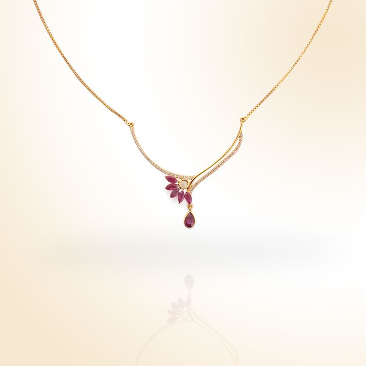 Ruby Necklace | Gemporia India