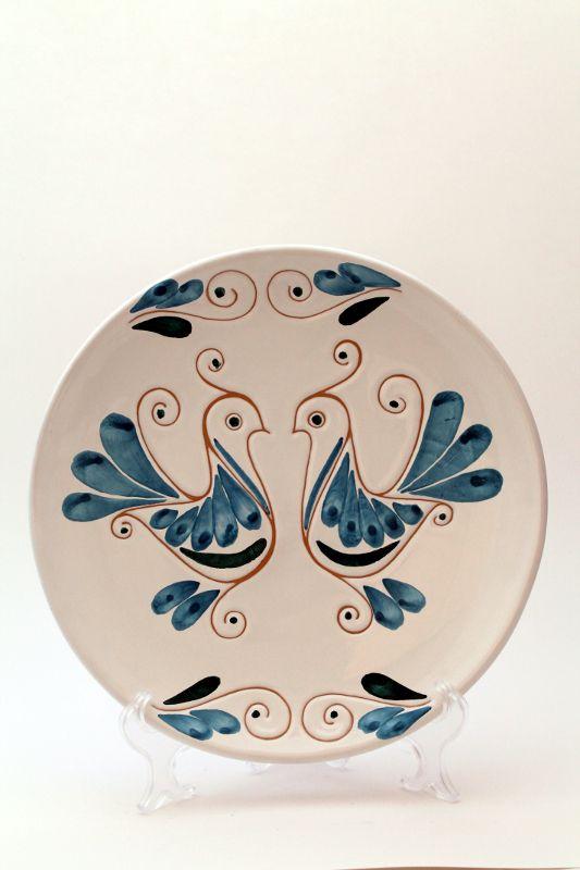 Ceramica : Piatto tondo