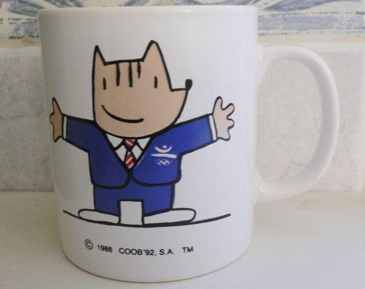 1992 Olympic Games Barcelona COBI Mascot figure Mug Cup VERY NICE/ VERY RARE!!!!  | eBay