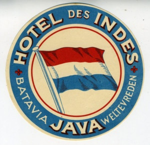Hotel des Indes, Java