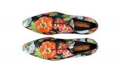 schoenen tropische bloemenprint mascolori tropical bouquet
