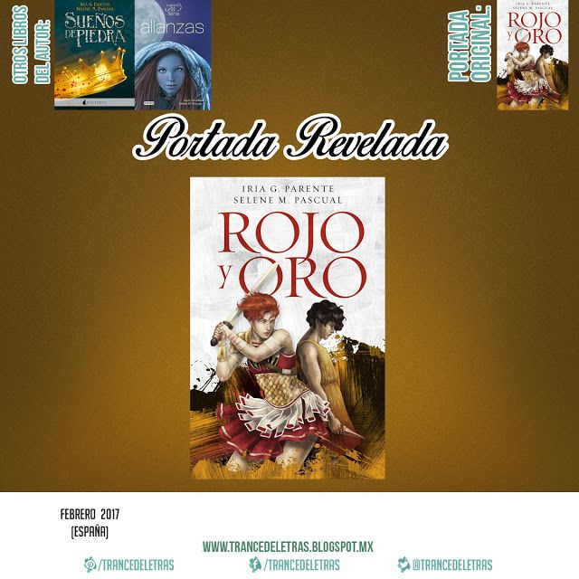 """Rojo y Oro"" de Iria G. Parentey Selene M. Pascual"