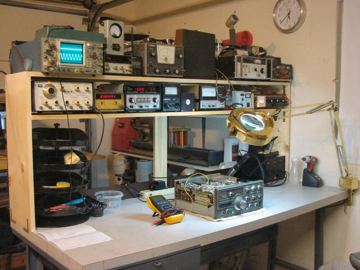 Diy Electronics Repair Workbench : Best images about electronics workbench on pinterest