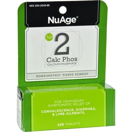 Hyland's No 2 Calcium Phosphate - 125 Tablets - 0346783