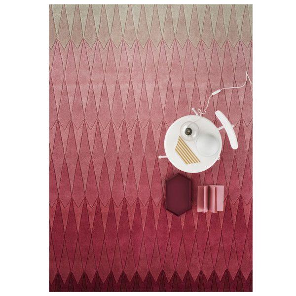 Wełniany dywan Acacia Pink, 170x240 cm   Bonami