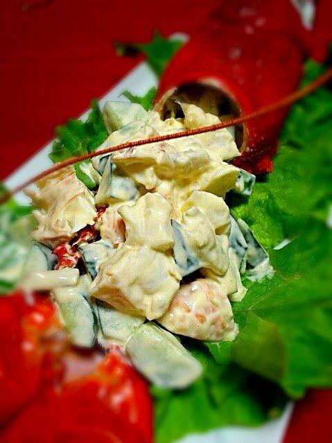 チョと豪華な伊勢海老でサラダを・・・ - 32件のもぐもぐ - えびサラダ by r3c318