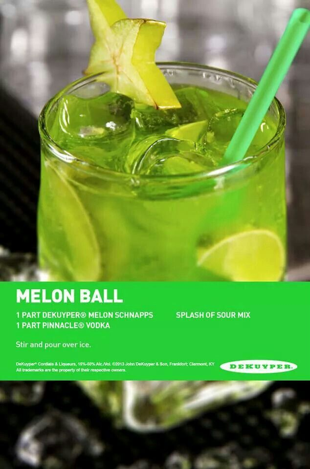 month melon ball today s nest the melon ball cocktail recipe yummly ...