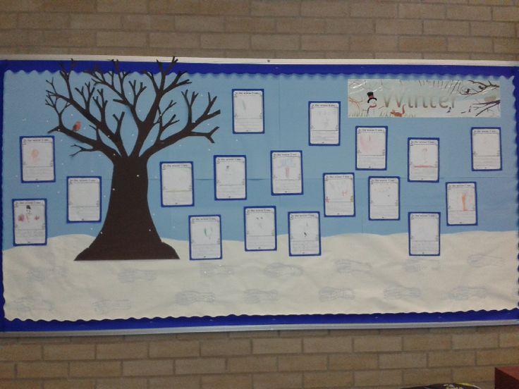 Winter classroom display photo - SparkleBox
