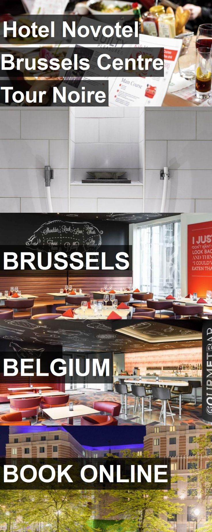 Hotel Hotel Novotel Brussels Centre Tour Noire in Brussels, Belgium. For more information, photos, reviews and best prices please follow the link. #Belgium #Brussels #HotelNovotelBrusselsCentreTourNoire #hotel #travel #vacation