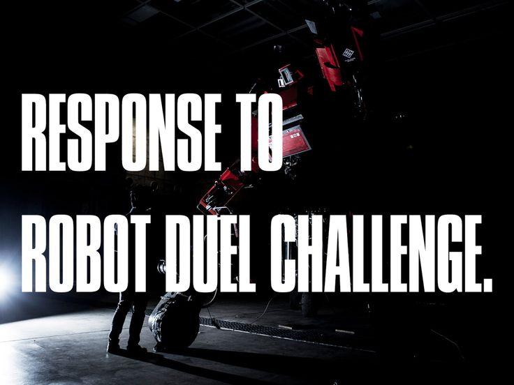 Japanese Robot Manufacturer Responds to America's Giant Robot Battle Challenge