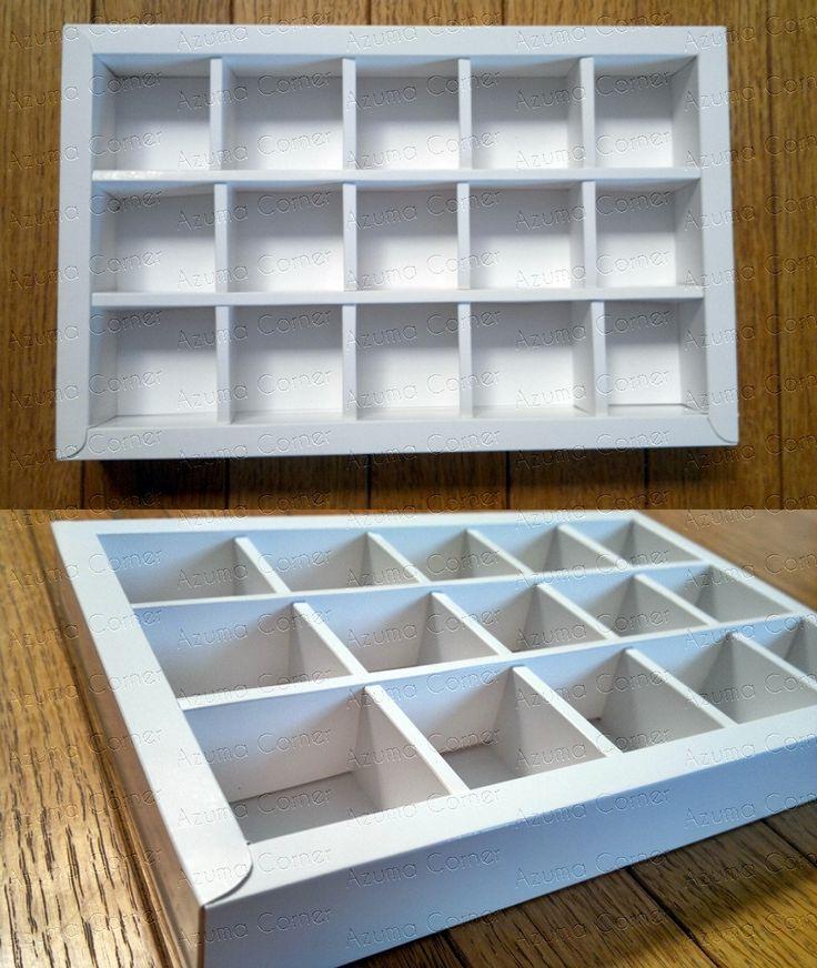 Box Cokelat isi 15  (5x3)