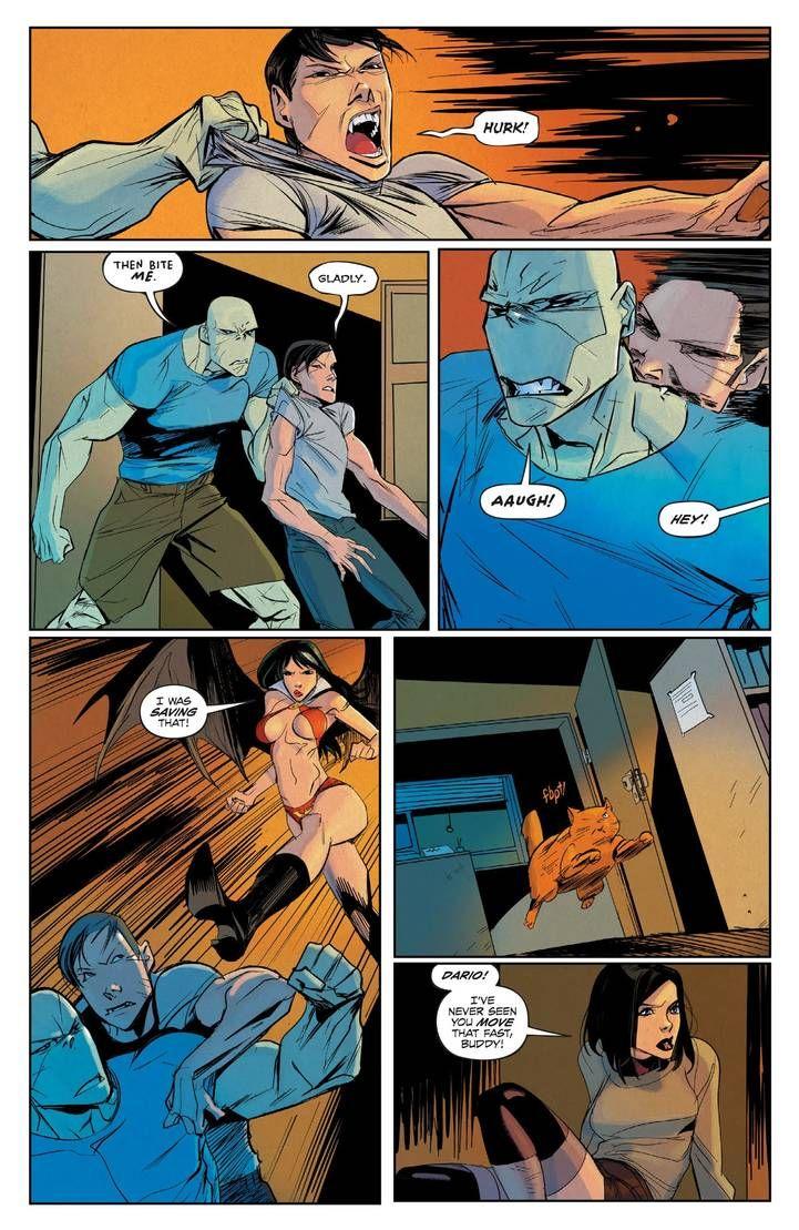 Hack Slash Resurrection 9 Pg1 By Celor On Deviantart Deviantart Comic Book Cover Digital Artist