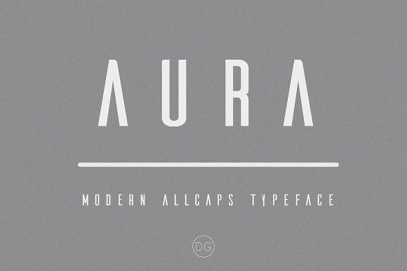 AURA by gdv128 on @creativemarket