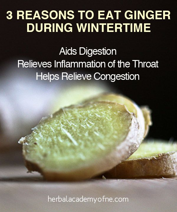 Three Reasons to Eat Ginger During Wintertime - Herbal Academy