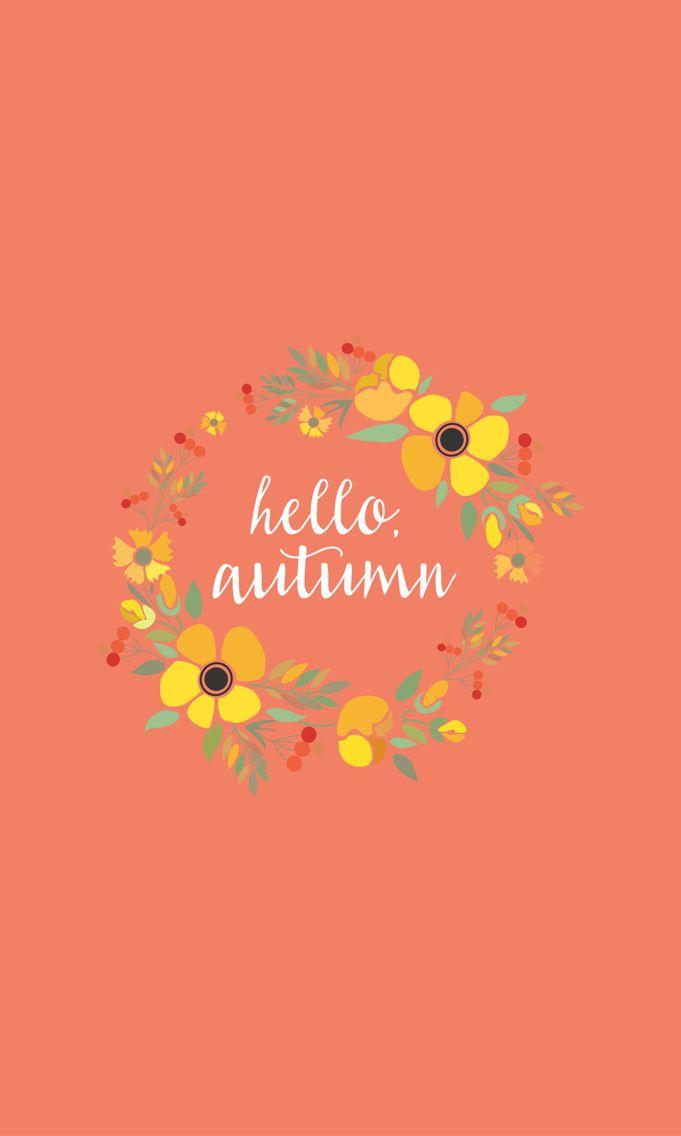 Cell Wallpaper Hd Illustration Fall Best 25 Autumn Desktop Wallpaper Ideas On Pinterest