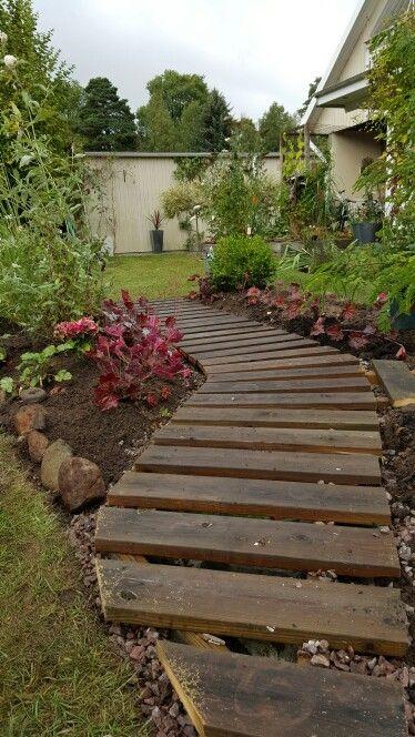 Gångrabatten, gång , garden path