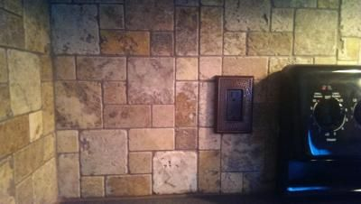 Scabos Natural Stone Mosaic Wall Tile Common 12 In X Actual At Lowes Kitchen Dreamin Pinterest Tiles