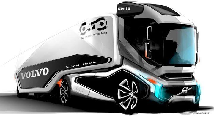 Concept Volvo truck. | Trucks | Pinterest | Volvo trucks ...