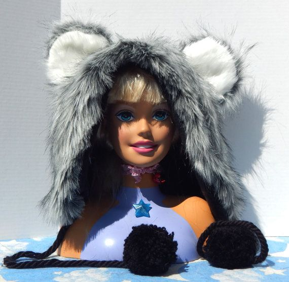 Faux Fur Hoodies by BraswellCostuming on Etsy
