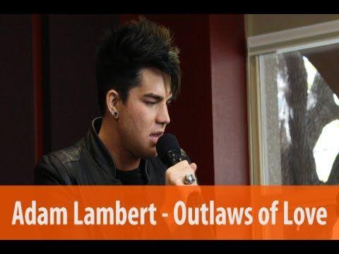 """http://www.KiddNation.com Adam Lambert sings """"Outlaws of Love"""" live on Kidd Kraddick in the Morning."""