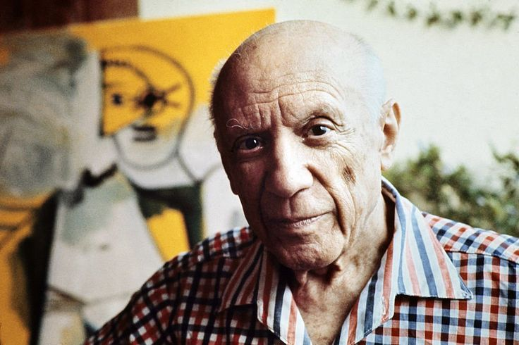 Pablo Picasso. Courtesy of Ralph Gatti/AFP/Getty Images.