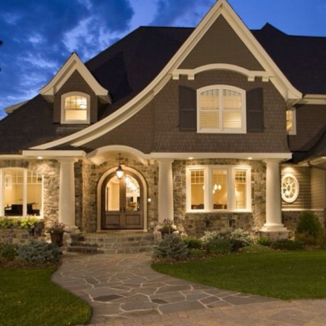 25 best ideas about beautiful homes on pinterest for A beautiful house image