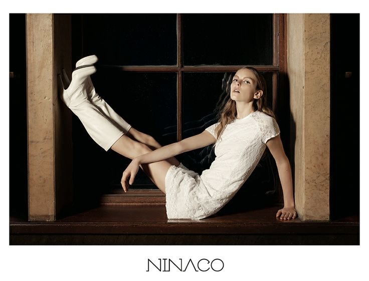 little white dress couture #ninaco #design #fashion