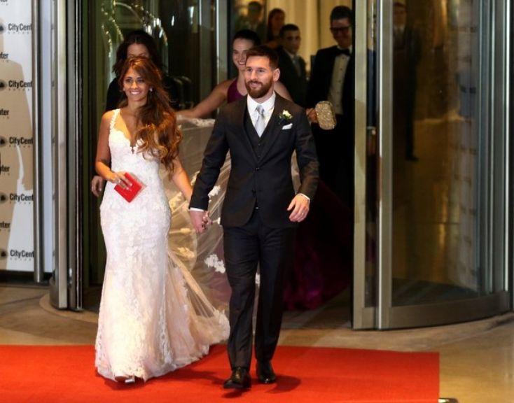 Murah Hati! Messi Sumbangkan Makanan Pesta Pernikahannya