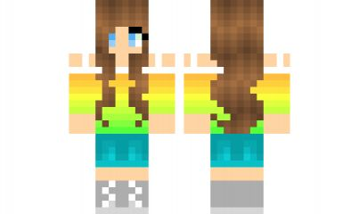 minecraft skin-teen-girl