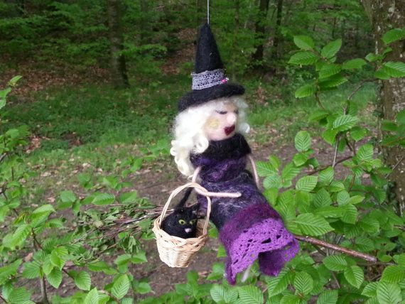 Feline Vilaine... The Crazy Cat Lady Witch with by EvelinesGarden