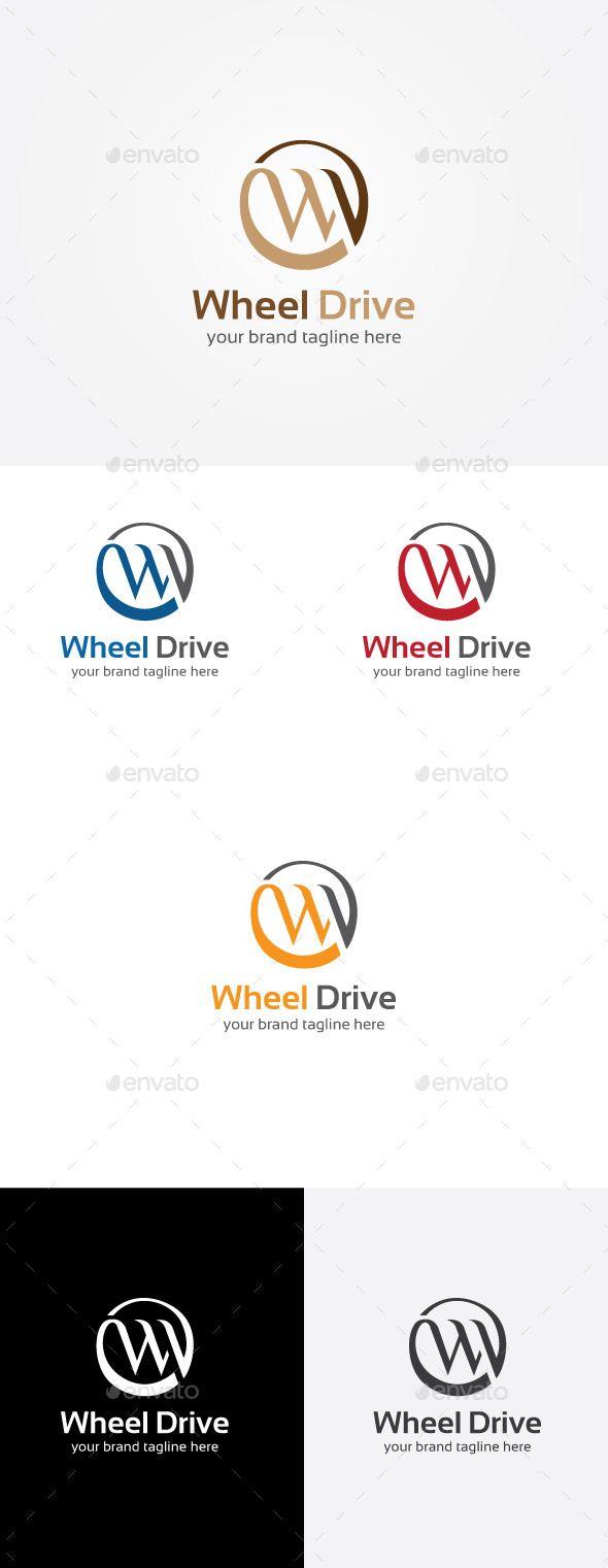 W letter logo design