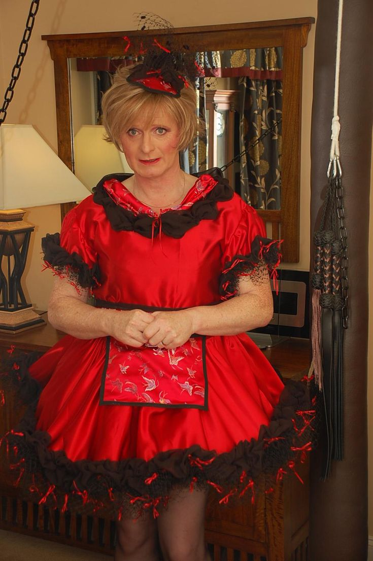 sissy dress up instructions