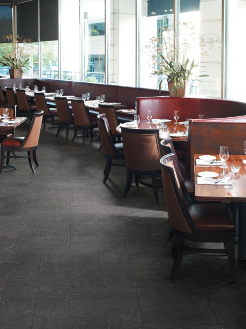 crossville porcelain tile limestone midnight - Porcelain Tile Restaurant 2015