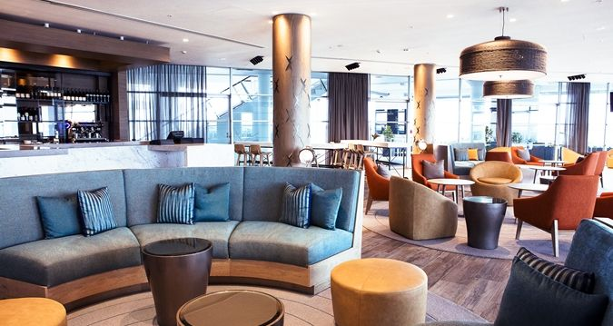 Brand new design for the Bellini Bar at the Hilton Auckland, New Zealand by CHADA.
