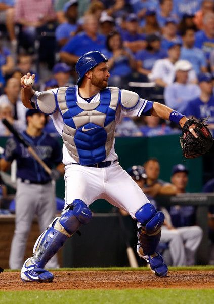 Drew Butera Photos - Tampa Bay Rays v Kansas City Royals - Zimbio