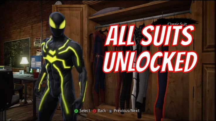 The Amazing Spider-Man - How & Where to Unlock Extra Suits (Scarlet Spid...