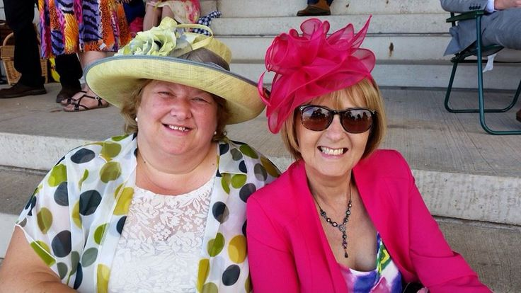 Southwell Races. Ladies day  August 2014 with Jill