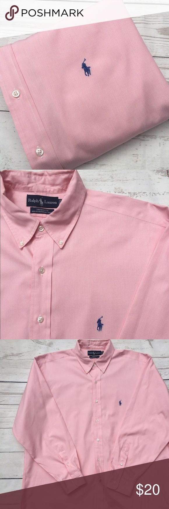 "☀️SALE☀️1/$20•2/$34•3/$50•POLO•Ralph•Lauren•Shirt• ☀️SALE☀️1/$20•2/$34•3/$50•POLO•Ralph•Lauren•men's  long sleeve button front 100% cotton pinpoint oxford shirt•17 34/35 Yarmouth per tag•Signature pony at chest•EUC• I see no flaws• this is an amazing deal on an amazing shirt that won't last long!         Chest: 29"" Length: 36"" Sleeve: 36"" Shoulder: 22"" Polo by Ralph Lauren Shirts Casual Button Down Shirts"