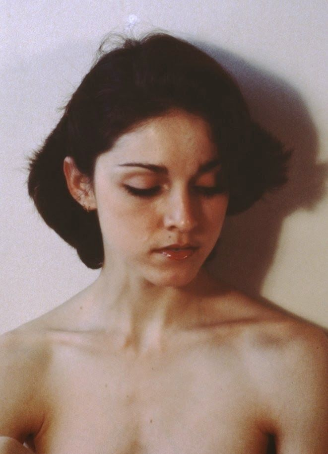 vintage everyday: Never-Before-Seen Madonna Pictures in an Early Photo Shoot from 1977