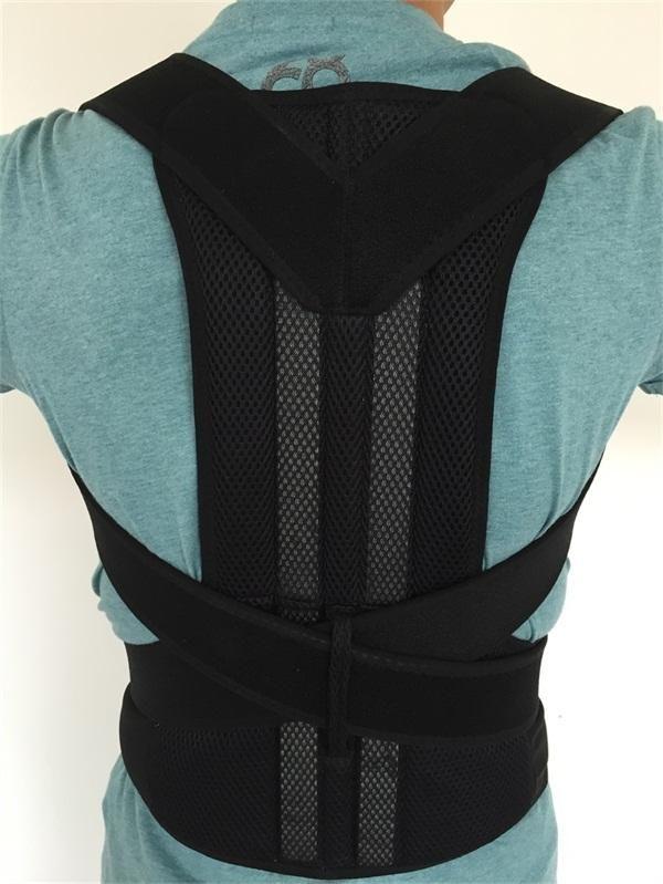 Back Shoulder Support Posture Correction Belt for Men Women Students AFT-B003 Magnetic Corset Back Posture Corrector Brace