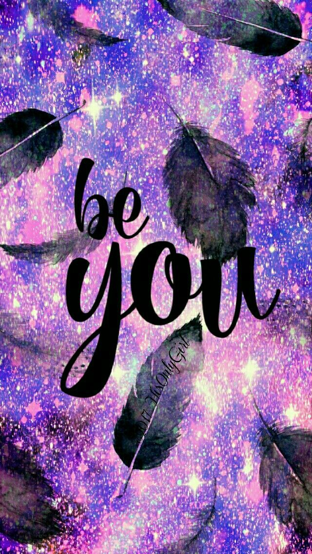 be YOU galaxy iPhone/Android wallpaper I created for the app CocoPPa!