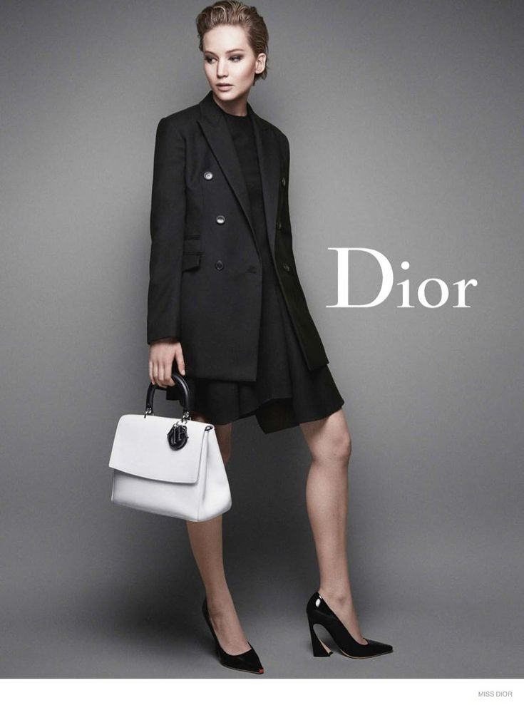 More Photos of Jennifer Lawrences New Miss Dior Ads Revealed