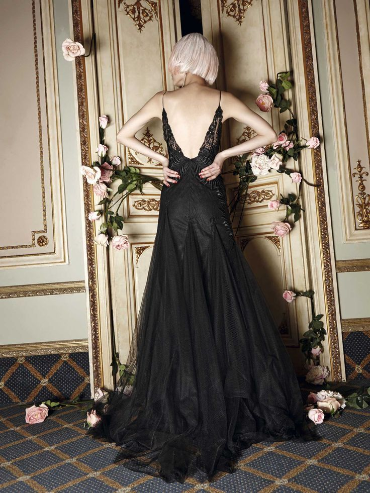 Boudoir inspired Evening gowns, Beautiful dresses, Gowns